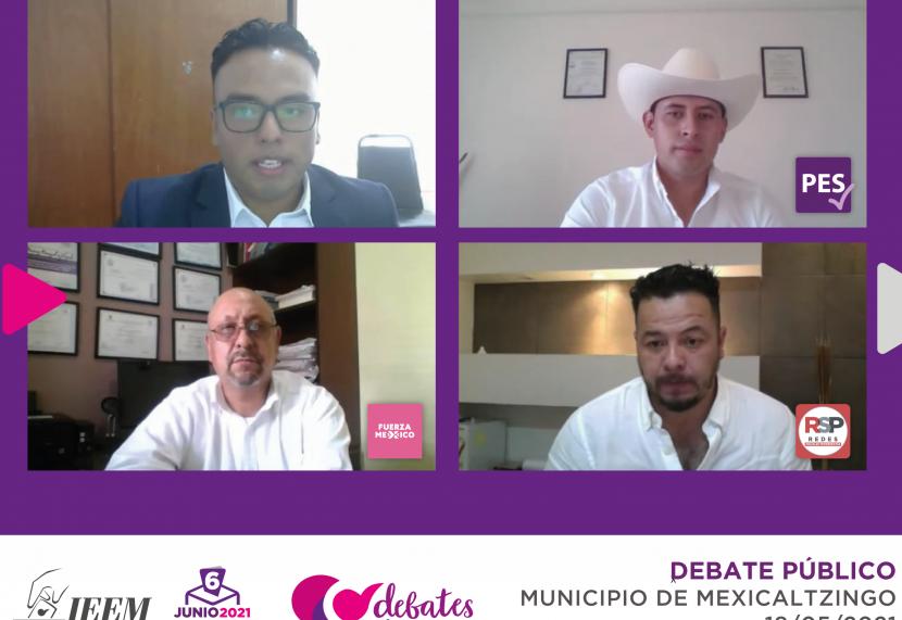 CANDIDATOS DE MEXICALTZINGO EXPONEN PROPUESTAS