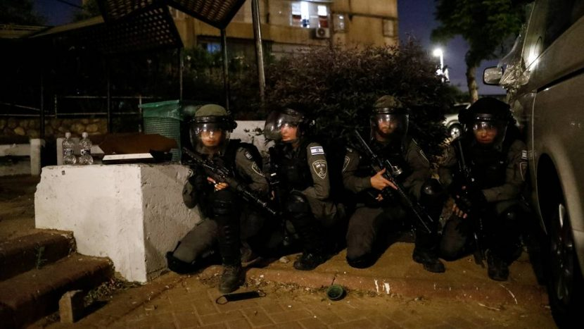 ENTRA EL EJÉRCITO ISRAELÍ A LA FRANJA DE GAZA