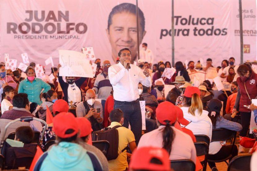 GOBIERNOS DEL PRI DEJARON GRAN DEUDA PÚBLICA EN TOLUCA: JRSG