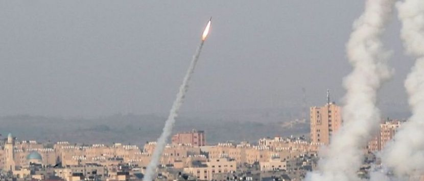 LANZAN SIETE MISILES A ISRAEL DESDE GAZA