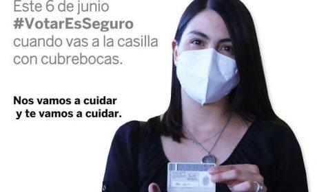 INVITA IEEM A EMITIR UN #VOTOSEGURO EN LAS URNAS