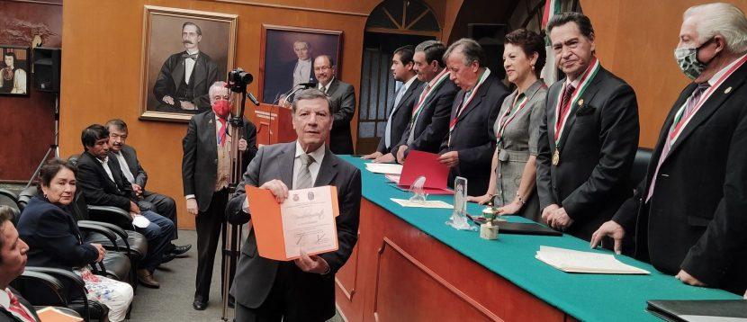 LUCIO RAMIREZ PRESIDE ACADEMIA DE ESTUDIO DE FRANCISCO ZARCO DE LA SOMEGEN
