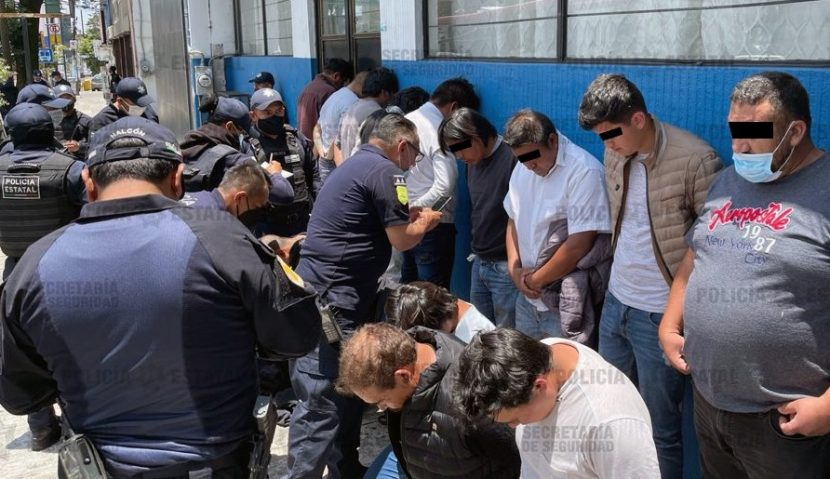 DETIENEN A 15 AGRESORES EN CASILLA ELECTORAL DE METEPEC