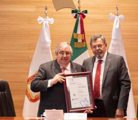 PODER JUDICIAL MEXIQUENSE, EL PRIMERO DEL PAÍS EN CERTIFICAR PROCESOS LABORALES