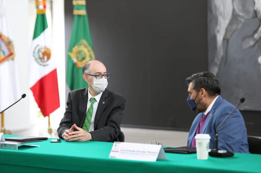 CARLOS EDUARDO BARRERA ENCABEZA REUNIÓN CON DIRECTIVOS DE IES