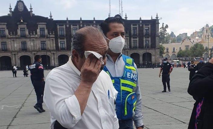 ENCAPUCHADAS DEPREDADORAS AGREDEN A REPORTERO