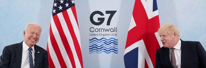 POSIBLE UN NUEVO PACTO ATLÁNTICO CON PRESENCIA DE BIDEN EN CUMBRE G7