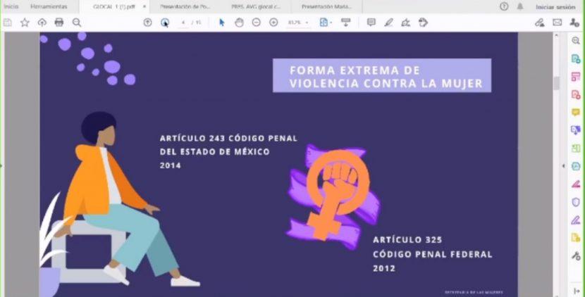 COMPARTEN EXPERIENCIAS DE MONITOREO POR ALERTA DE VIOLENCIA DE GÉNERO