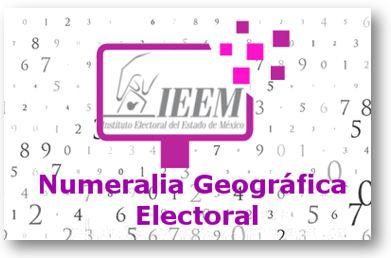 IEEM DIFUNDE NUMERALIA GEOGRÁFICA ELECTORAL PARA SU CONSULTA