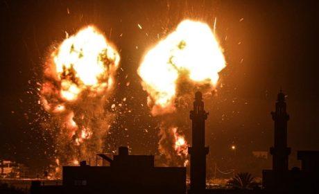 ISRAEL LANZA NUEVOS ATAQUES AÉREOS EN LA FRANJA DE GAZA