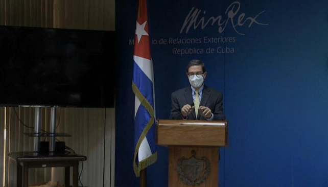 EEUU SIN AUTORIDAD PARA SANCIONAR A CUBA: BRUNO RODRÍGUEZ