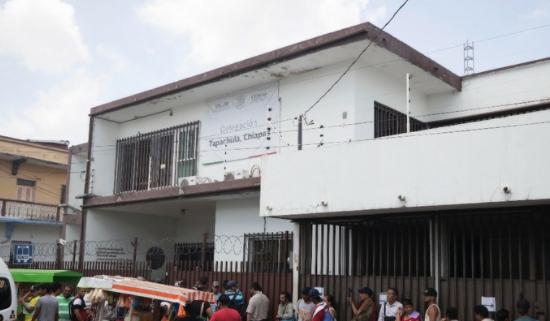 COMAR Y ACNUR DAN ATENCIÓN A REFUGIADOS EN TAPACHULA