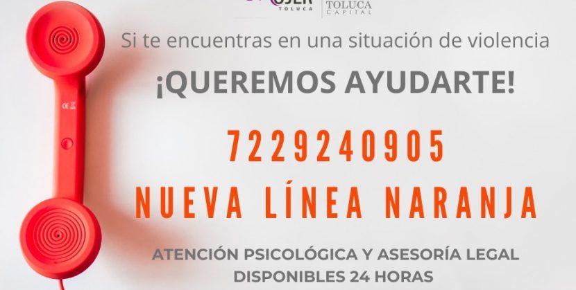 LINEA NARANJA CONTINÚA AL SERVICIO DE TOLUQUEÑAS