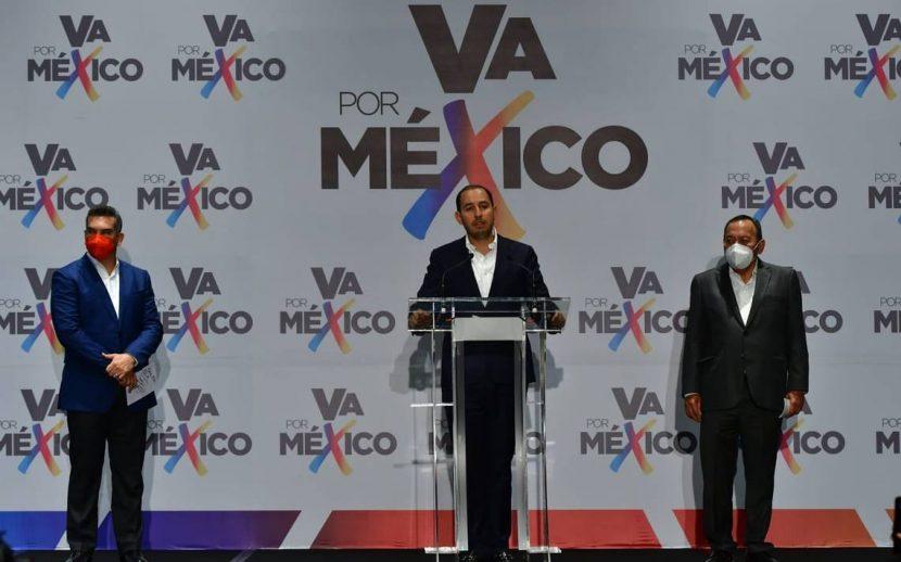 «VA POR MÉXICO» PIDE ANULAR ELECCIONES EN CUATRO ESTADOS