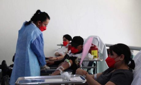 REALIZA ISSEMYM COLECTA DE DONACIÓN DE SANGRE