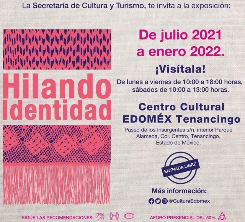 """TENANCINGO INVITA A LA EXPOSICIÓN """"HILANDO IDENTIDAD"""""""