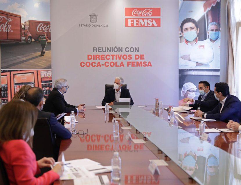 DESTACA EDOMÉX PROYECTOS DE EXPANSIÓN DE FEMSA