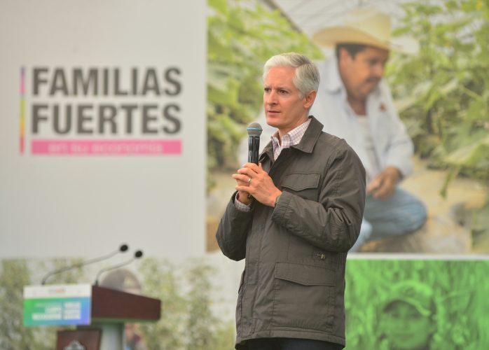 SUBRAYA ALFREDO DEL MAZO INVERSIÓN SUPERIOR A 260 MILLONES DE PESOS PARA FORTALECER AL CAMPO MEXIQUENSE