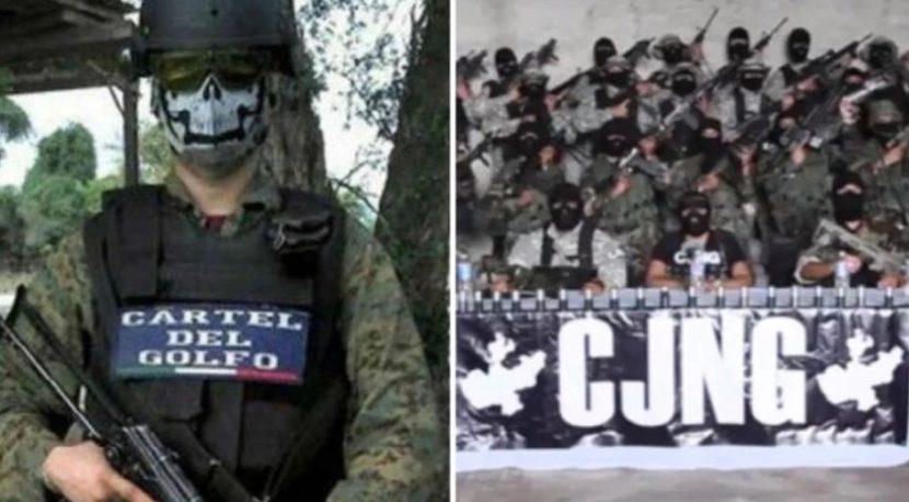 CARTEL DEL GOLFO Y CJNG AMENAZAN CON GUERRA EN TAMAULIPAS