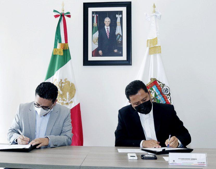 FIRMAN ACUERDO ACADÉMICO COMECYT- EDOMÉX