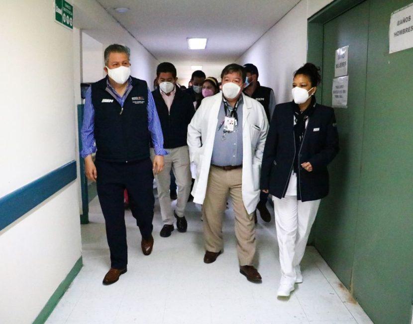 TRAS AFECTACIONES ABRE CONSULTA EL HOSPITAL GENERAL DE ATIZAPÁN