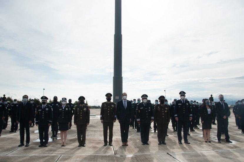 CONCLUYE CURSO EN MANEJO DE ARMAMENTO A POLICÍAS DE LA SSEM