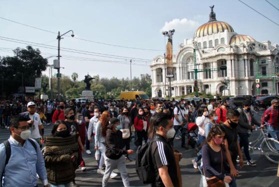 EN MÉXICO: 28,953 CONTAGIOS Y 940 MUERTES, CIFRA RÉCORD DE LA PANDEMIA