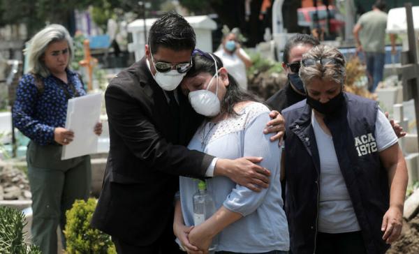 REGISTRA MÉXICO 18,262 NUEVOS CONTAGIOS Y 940 MUERTES POR COVID-19