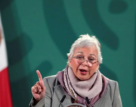 OLGA SÁNCHEZ CORDERO PROTESTA COMO PRESIDENTA DEL SENADO