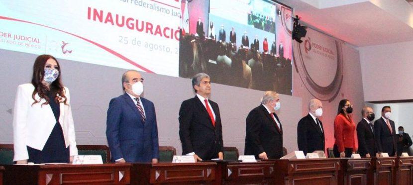 INAUGURAN PRIMER CONGRESO NACIONAL FEDERALISMO JUDICIAL