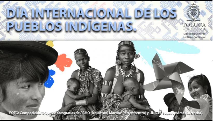 CONMEMORA TOLUCA EL DÍA INTERNACIONAL DE LOS PUEBLOS INDÍGENAS