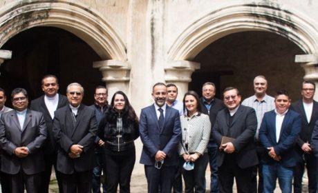 FERNANDO FLORES SE REUNE CON EL CONSEJO INTERRELIGIOSO DE EDOMEX