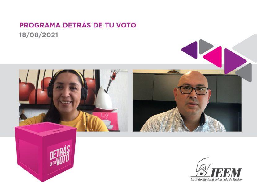 INFORMA IEEM DEL COMPORTAMIENTO ELECTORAL PARA CONSULTA