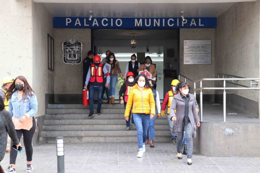 HUIXQUILUCAN SE SUMARÁ AL SEGUNDO MACROSIMULACRO NACIONAL 2021