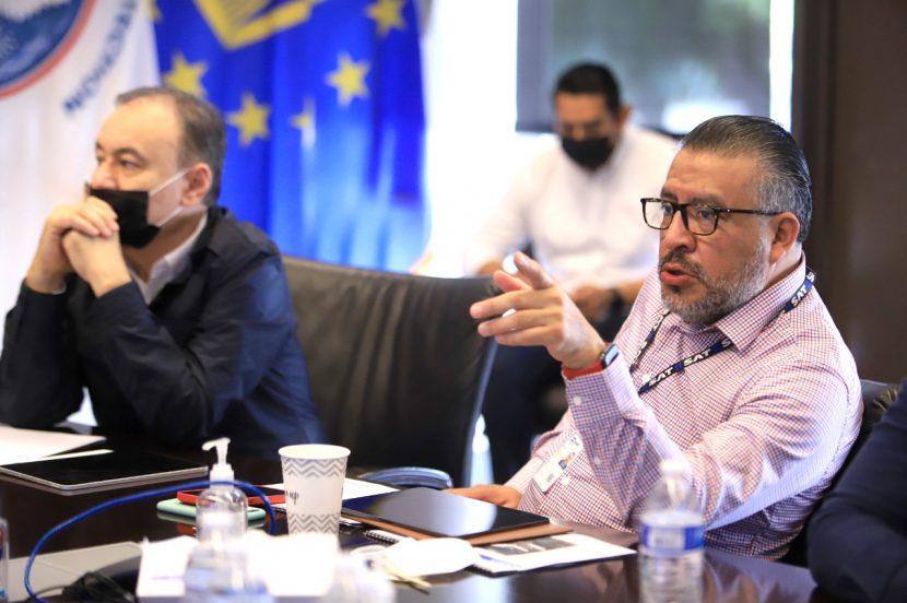 HORACIO DUARTE PACTA ACUERDOS CON AUTORIDADES FRONTERIZAS DE EU