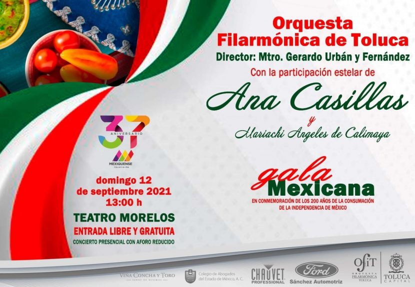 PREPARA OFIT TRADICIONAL GALA MEXICANA DE INDEPENDENCIA