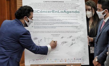 LUCHA CONTRA EL CÁNCER NO ES DE PARTIDOS POLÍTICOS: ENRIQUE VARGAS