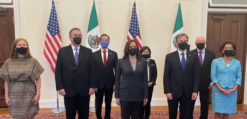 REACTIVAN DIÁLOGO DE ALTO NIVEL MÉXICO-EEUU