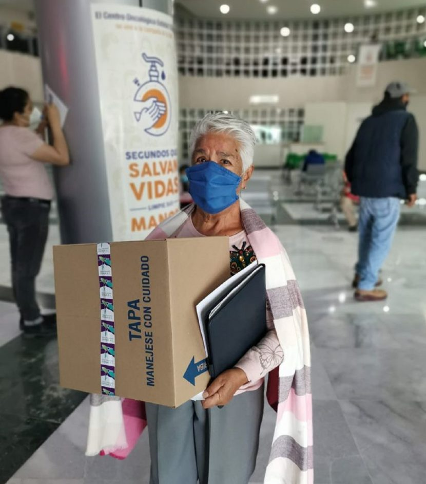 ENTREGA VOLUNTARIADO DEL ISSEMYM, APOYOS ALIMENTICIOS