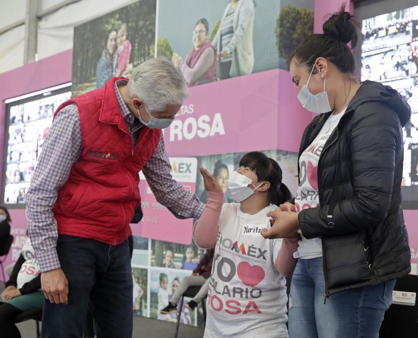 APOYA SALARIO ROSA A FAMILIAS CON ALGÚN INTEGRANTE DISCAPACITADO