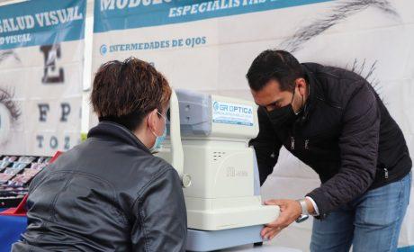 REALIZA HUIXQUILUCAN CAMPAÑA DE SALUD VISUAL