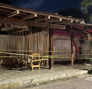 CINCO EXTRANJEROS QUEDARON EN FUEGO CRUZADO TULUM, MUEREN DOS