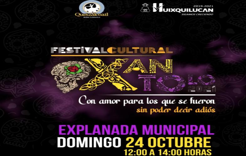 HUIXQUILUCAN RECUERDA A LOS MUERTOS CON EL FESTIVAL XANTOLO 2021