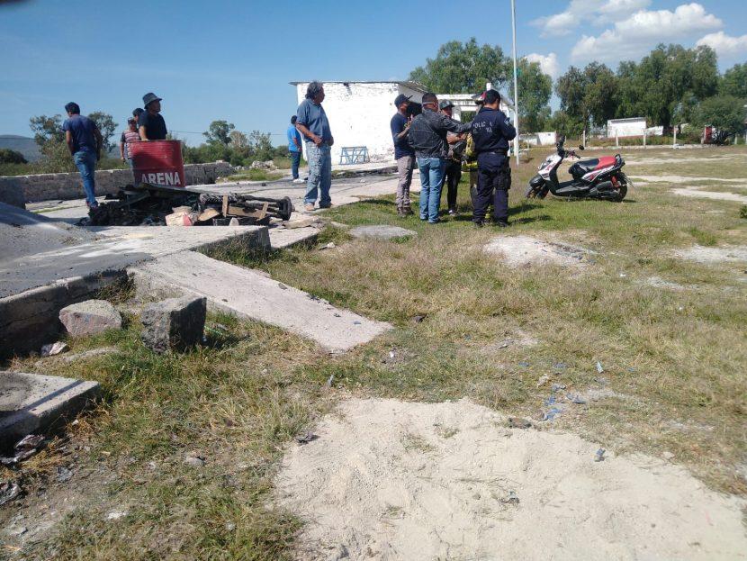 EXPLOTA POLVORÍN EN ZUMPANGO HAY DOS PERSONAS LESIONADAS
