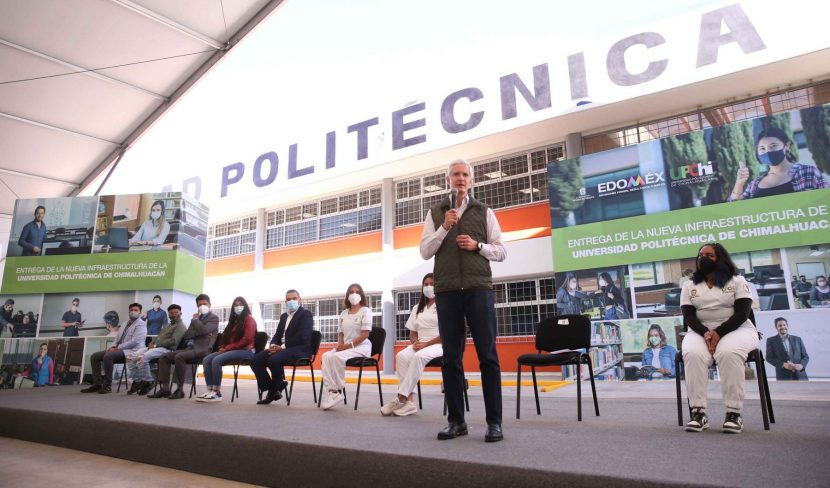 ENTREGA ALFREDO DEL MAZO EDIFICIO A LA UNIVERSIDAD POLITÉCNICA
