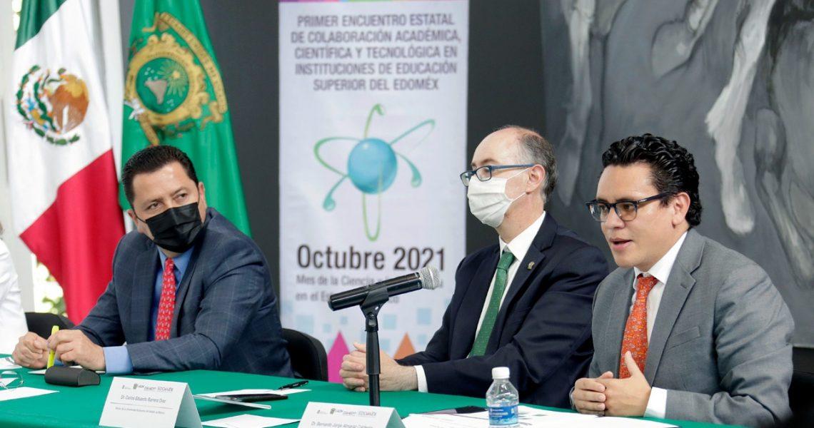 REALIZAN ENCUENTRO DE COLABORACIÓN ACADÉMICA, CIENTÍFICA Y TECNOLÓGICA